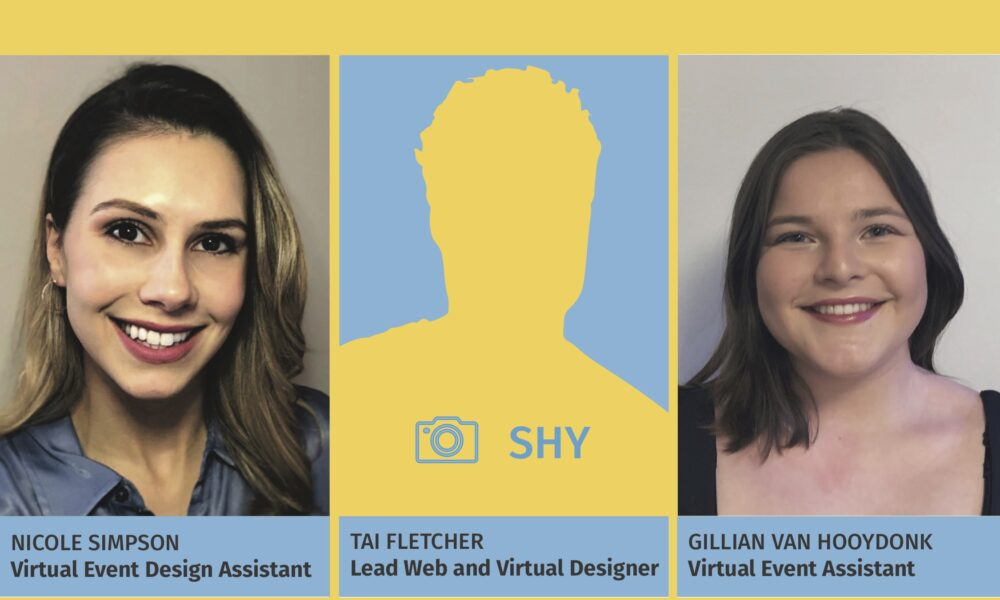 virtual events, New Faces in the House!